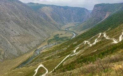 Долины и степи