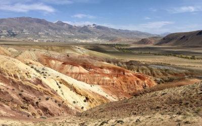 Марсианская долина реки Кызыл-Чин