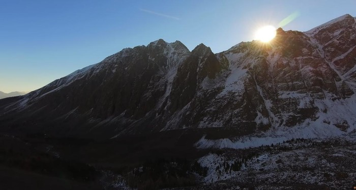 Ледник Актру в Горном Алтае
